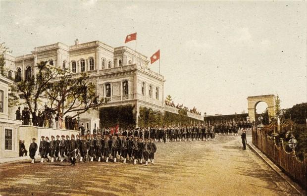 Alman İmparatoru II. Wilhelm'den Osmanlı Devleti Sultan Abdülhamid Dost Ziyareti
