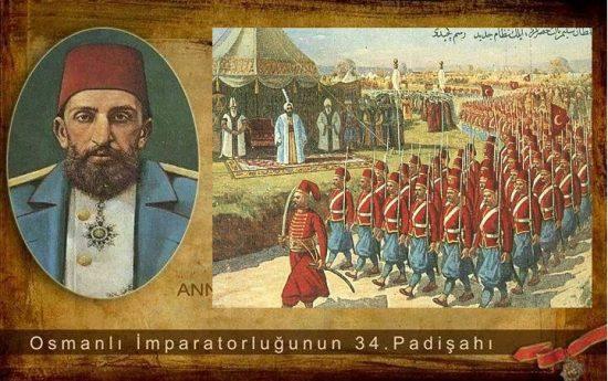 Osmanlı Padişahı Sultan II. Abdülhamid han Döneminde Yaşanan Tarihi Olaylar Krolonojisi