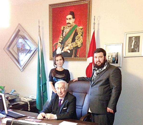 Sultan Abdülhamid Han Torunları Babası Şehzade Harun Osmanoğlu Oğlu Şehzade Kayıhan Osmanoğlu