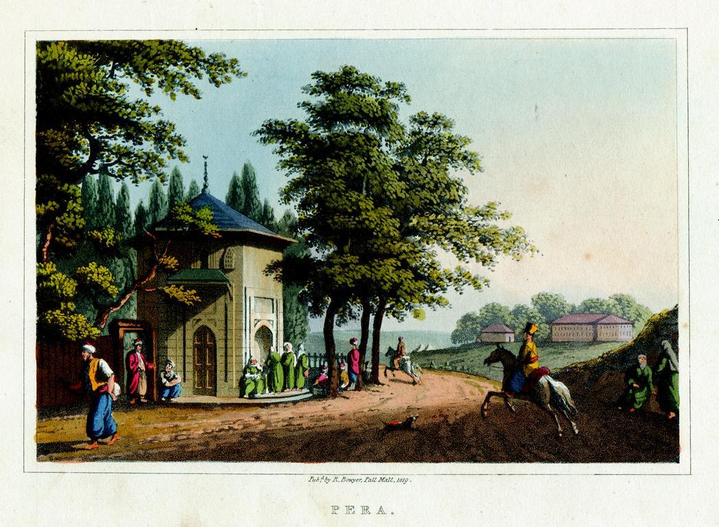 Gravürler 1810 Tarihli Views In The Ottoman Dominions . Eser Beyoglu Eflak Eski Istanbul Tarabya Gibi Yerlerin Resimleri Aquatint Teknigi Ile Basilmis Gravürler Ve Tarihî Bilgiler