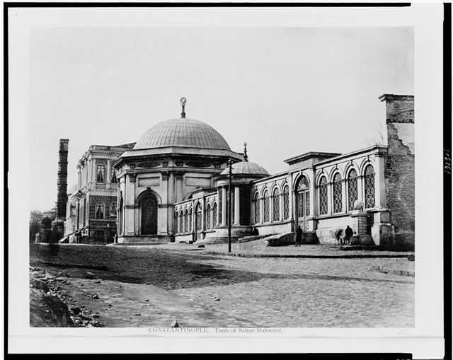 II. Mahmud Türbesi 1860 1890 Yılları.II . Mahmud Turbesi
