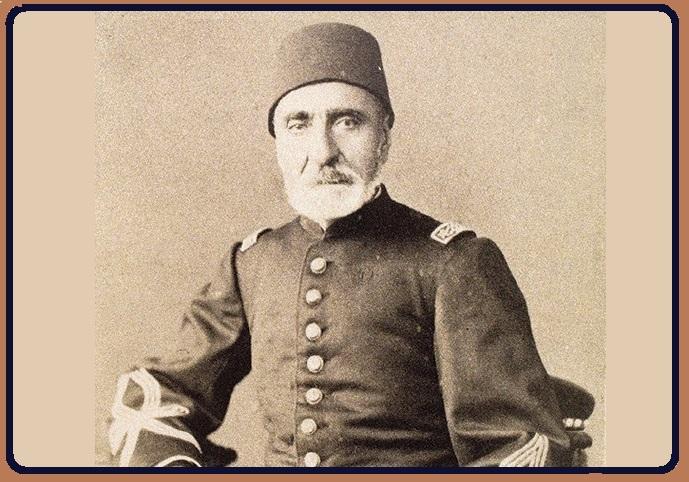 NECİP AHMET PAŞA Yesârîzâde Muzıkayi Hümâyun Askeri Saray Bandosu Yöneticisi Hanende Bestekâr Ve Nota Koleksiyoncu