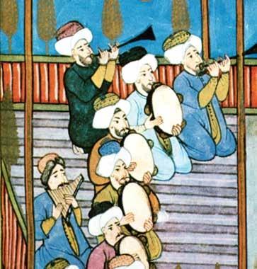 Osmanli Devleti Saraylarında Sanat Ve Musiki̇ Eski Tarihi Resim Ve Minyatürler Tablosu OSMANLI ESTETİĞİ Ve MUSİKİSİ