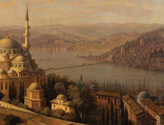 Osmanli Devleti Saraylarında Sanat Ve Musiki̇ Eski Tarihi Resim Ve Yağlı Boya Tablosu 1 Kopya