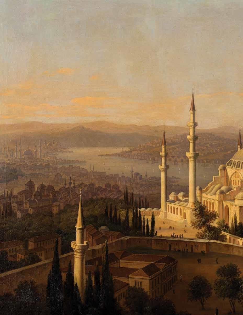 Osmanli Devleti Saraylarında Sanat Ve Musiki̇ Eski Tarihi Resim Ve Yağlı Boya Tablosu 2