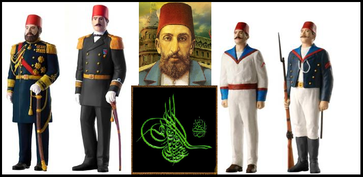 Adulhamid Dönemi Osmanlı Askerî Gücü II. Abdülhamit II. Abdülhamit Dönemi Donanma Personelleri2a