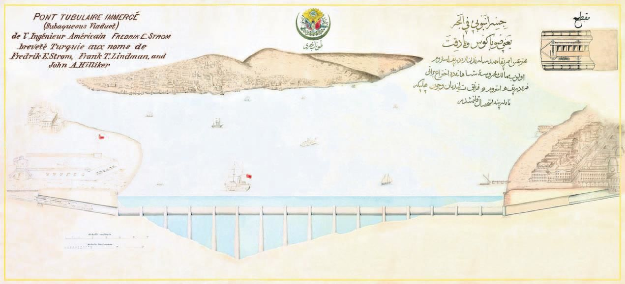 Amerikalı Mühendislerin 1902 Tarihli Tüp Geçit Projesi Sultan Abdülhamid Han'ın Avrasya Geçit Tüneli Rüyası Gerçek Oldu