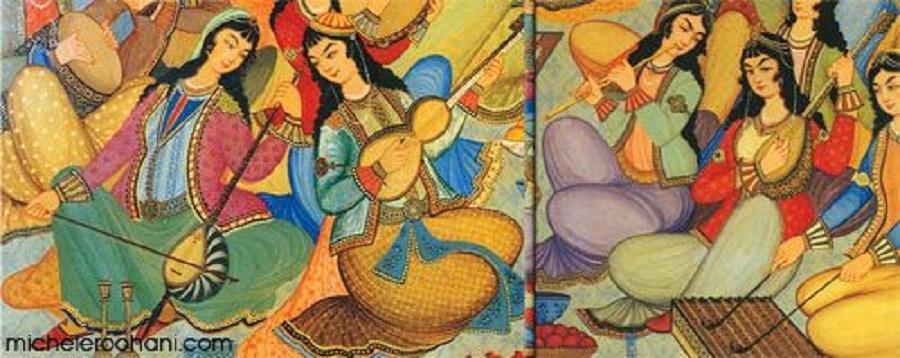Osmanlı Musikisi Müzik Çalgıları Sınıflandırılması Ve Bilgileri Müzesi Iran Tablosu Osmanlı Sarayı Musikisi Çalgıları Ile Fasıl TRT Türk Haber Merkezi