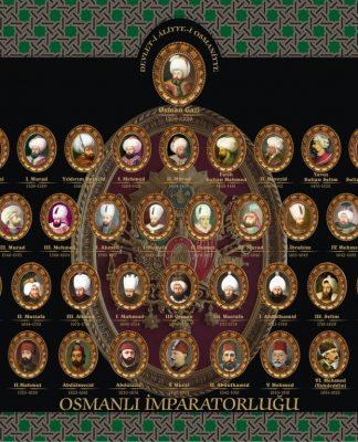 Osmanlı Imparatorluğu Hanedan Padişahları Şeceresi Osmanlı Devleti Sultanları Aile Soy Ağacı Osmanlı Hanedanlığı Soyağacı
