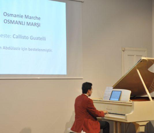 Piyano Tuşları Farklı Nağmeler Turing Konserinde Osmanlı Marşlarını Ve Müziklerini çaldı.2017 Yılbaşı Konseri Genç Piyanist Güneş Yakartepe Kuyruklu Akustik Piano