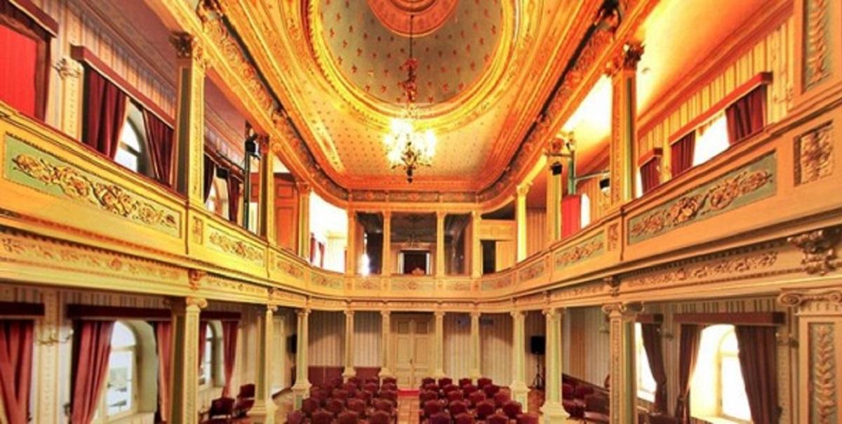 Yıldız Sarayı Yıldız Tiyatrosu Abdülhamit Dönemi Sanat Kültür Konser Opera Tiyaro Salonu. Görsel Sanatlar İstanbul Yildiz Opera