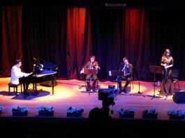 NİHAVEND LONGA Bestekar Kevser Hanım Piyano Keman Ney Düeti Klasik Türk Musikisi Saz Eserleri Konseri İBB Cem Karaca Kültür Merkezi Konser Salonu