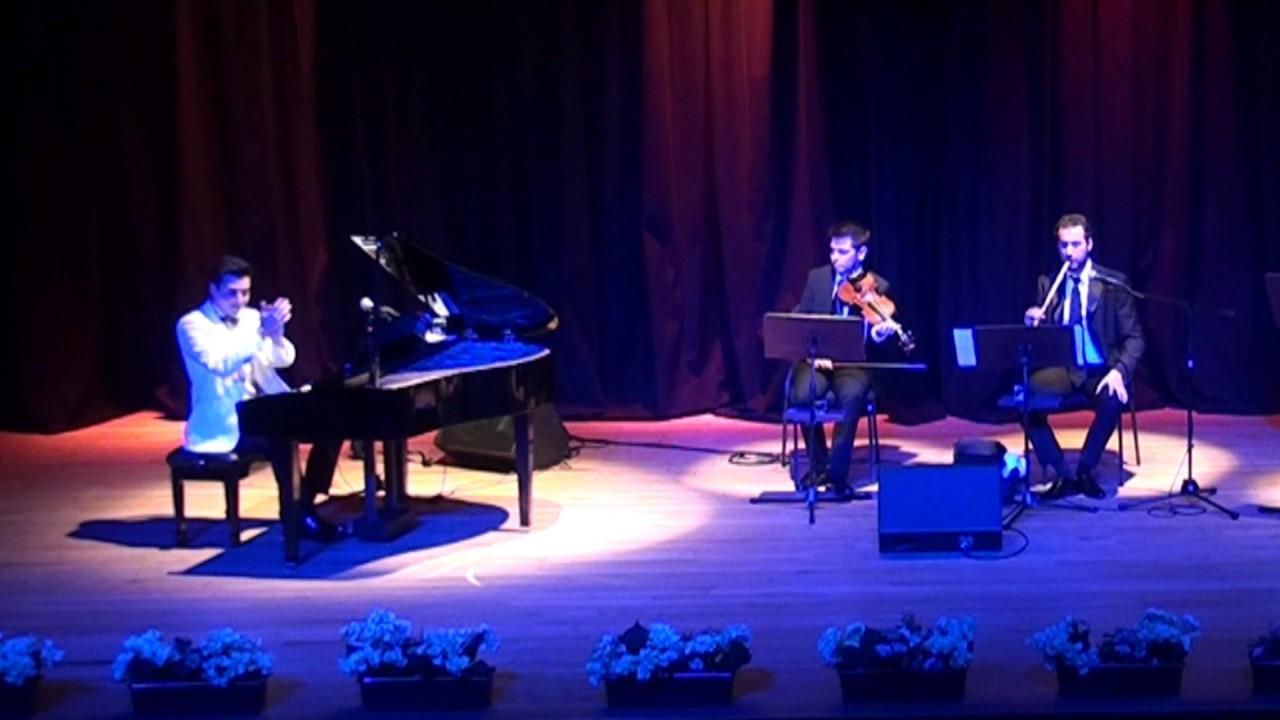 NİHAVEND LONGA Bestekar: Kevser Hanım Piyano Keman Ney Düeti Klasik Türk Musiki Saz Eserleri