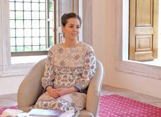Osmanlı Hanedanı Sultanlarından Biri Olan Nilhan OSMANOĞLU. Harun Osmanoğlu Efendi'nin Torunu Şehzade Orhan Osmanoğlunun Kızı