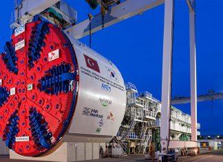 Avrasya Tüneli Projesi İstanbul Boğazı Karayolu Tüp Geçişi Avr Asya Tuneli Avrasya Tüneli'ne ABD'den Dünyanın En Iyi Tünel Projesi ödülü
